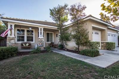 Corona Single Family Home For Sale: 8825 Hunt Canyon Road