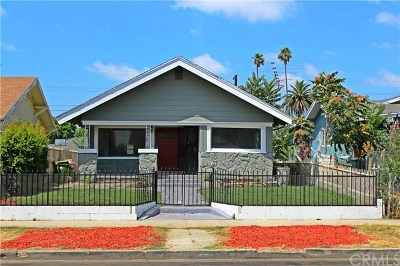 Los Angeles Single Family Home For Sale: 1337 W 53rd Street