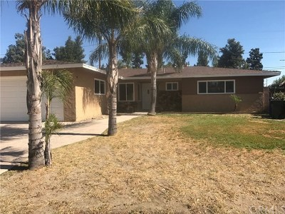 Fontana Single Family Home For Sale: 8867 Williams Road