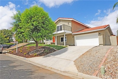 Canyon Lake Single Family Home For Sale: 23486 Schooner Drive