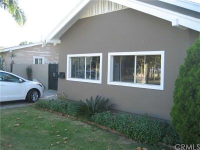 Santa Ana Single Family Home For Sale: 1032 Hickory Street