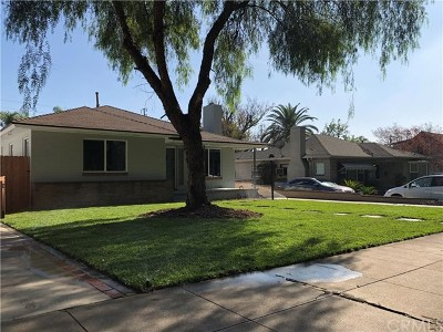Upland Single Family Home For Sale: 254 S Euclid Avenue