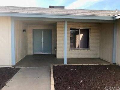 Menifee Single Family Home For Sale: 27165 Stark Street