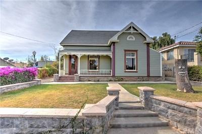 Riverside Single Family Home For Sale: 3820 Ridge Road