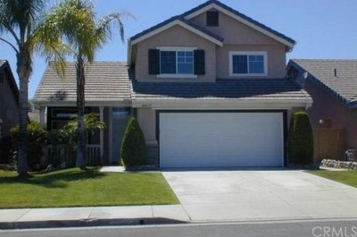 Temecula CA Single Family Home For Sale: $399,000