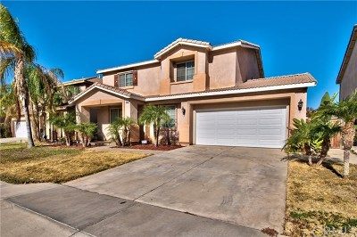 Perris Single Family Home For Sale: 1490 Ranch Street