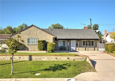 West Covina Single Family Home For Sale: 3441 S Gauntlet Drive