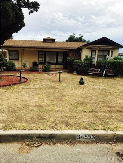 Yucaipa Single Family Home For Sale: 34553 Ave C