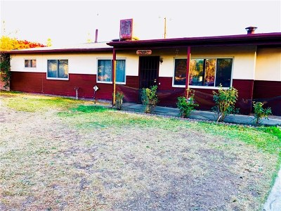 San Bernardino Single Family Home For Sale: 25675 Pasito Street