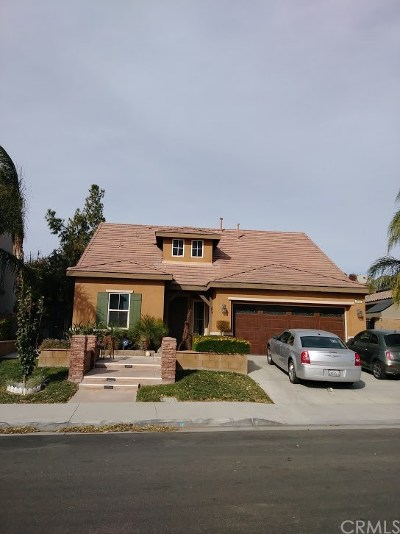 Eastvale Single Family Home For Sale: 5493 Cambria Drive