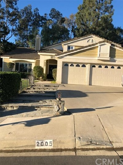 Chino Hills Single Family Home For Sale: 2005 Turquoise Circle