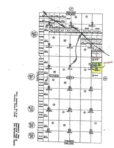 Barstow Residential Lots & Land For Sale: Camp Rock Rd