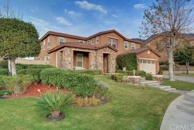 Fontana Single Family Home Active Under Contract: 4596 Creekside Lane
