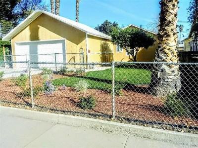San Bernardino Single Family Home For Sale: 1735 N Pershing Avenue