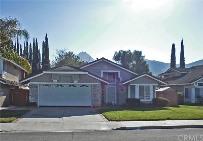 Corona Single Family Home Active Under Contract: 13200 February Drive