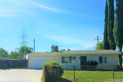 Rancho Cucamonga Single Family Home For Sale: 13051 Chestnut Avenue