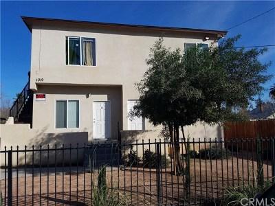 San Bernardino Multi Family Home For Sale: 1019 N Pershing Avenue