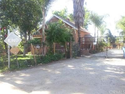 Riverside Single Family Home For Sale: 4891 Howard Avenue