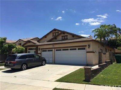 Corona Single Family Home For Sale: 750 Raphael Circle