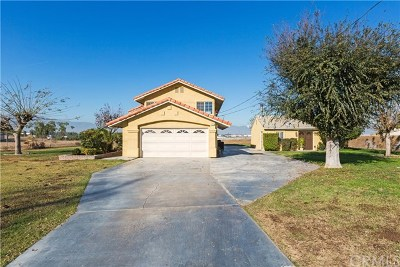 Jurupa Single Family Home For Sale: 19734 El Rivino Road