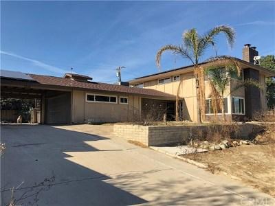 Rialto Single Family Home Active Under Contract: 1698 N Eucalyptus Avenue