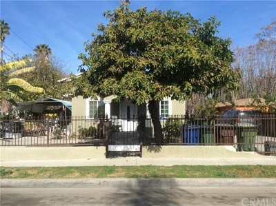 Compton Single Family Home For Sale: 2435 E 130th Street