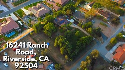 Riverside Single Family Home For Sale: 16241 Ranch Road
