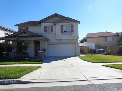 Rancho Cucamonga Single Family Home For Sale: 7503 Pinot Place