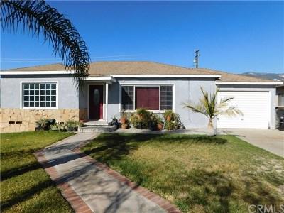 San Bernardino Single Family Home For Sale: 290 E 36th Street