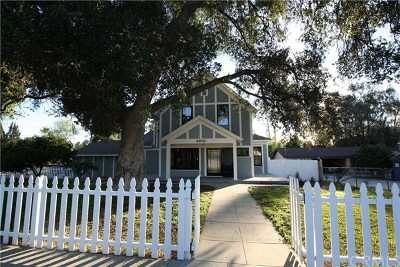 Riverside Single Family Home For Sale: 2810 Woodbine Street