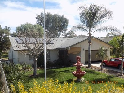 Perris Single Family Home For Sale: 3061 Bradley Road