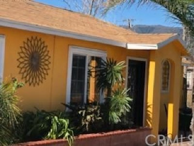 Fontana Single Family Home For Sale: 6624 Citrus Avenue