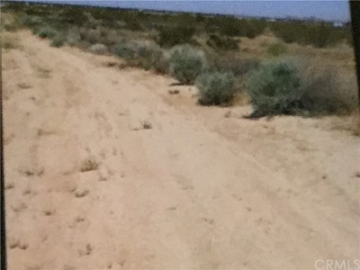 Barstow CA Residential Lots & Land For Sale: $11,100