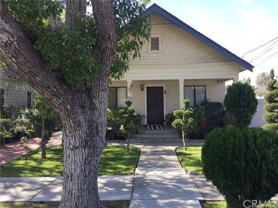 Azusa Single Family Home For Sale: 729 N Pasadena Avenue