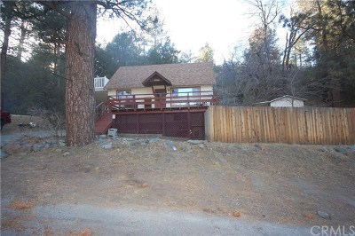 Wrightwood Single Family Home For Sale: 23353 Flume Canyon Drive
