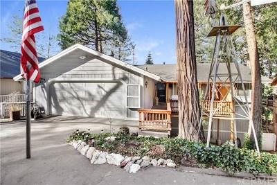 Crestline Single Family Home For Sale: 24612 Bernard Drive