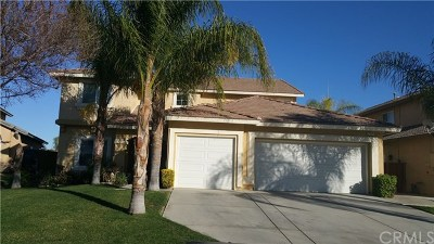 Perris Single Family Home For Sale: 2351 Willowbrook Lane