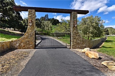 Santa Ynez Single Family Home For Sale: 3275 Long Valley Road