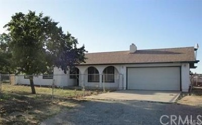 Perris Single Family Home For Sale: 20430 Woodward Street
