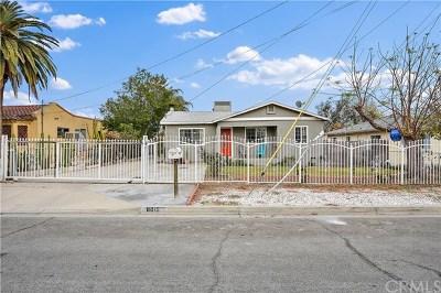 Fontana Single Family Home Active Under Contract: 8015 Grace Avenue
