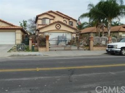 Perris Single Family Home For Sale: 2269 Medical Center Drive