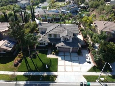 Corona Single Family Home For Sale: 3341 Horizon Street