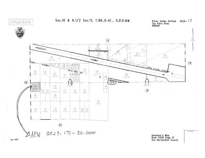 Newberry Springs Residential Lots & Land For Sale: Newberry Springs Place