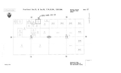 Barstow Residential Lots & Land For Sale: Barstow