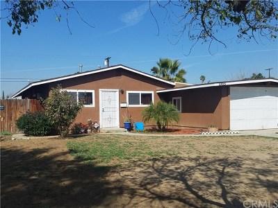 Riverside Single Family Home For Sale: 5415 Wayman Street