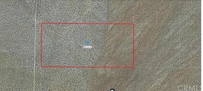 San Bernardino County Residential Lots & Land For Sale: Freemont Peak Road
