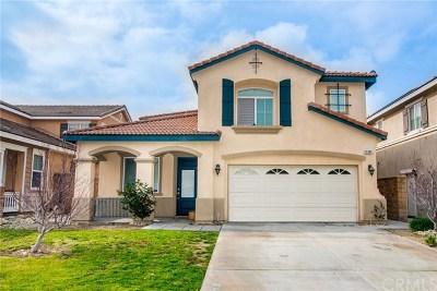 Fontana Single Family Home For Sale: 15341 Palm Leaf Lane