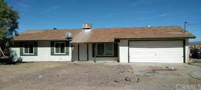 Newberry Springs Single Family Home For Sale: 48452 National Trails
