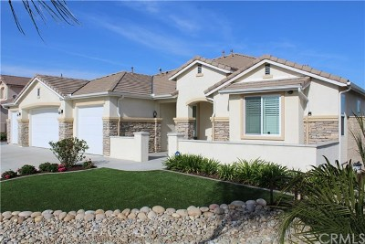 Perris Single Family Home For Sale: 19274 Silver Summit Circle