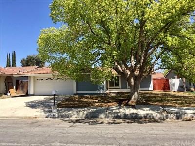 Moreno Valley Single Family Home For Sale: 12854 Gorham Street